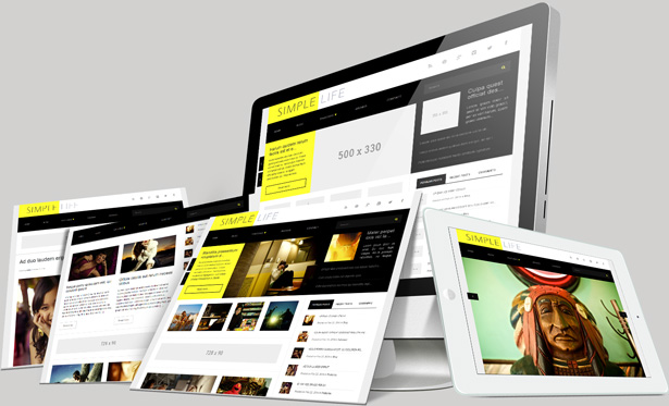 simple life wordpress theme