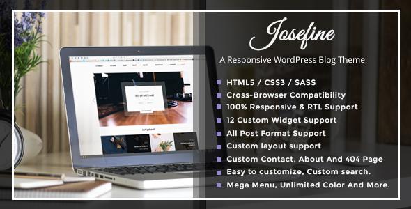 Josephine – A Responsive WordPress Blog Theme - Premium Wordpress And Ghost  Themes for Blog - Photography - Magazine - Music Sites