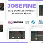 Josefine – Blog and WooCommerce WordPress theme