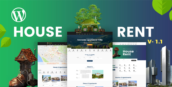 HouseRent – Multi Concept Rental WordPress Theme